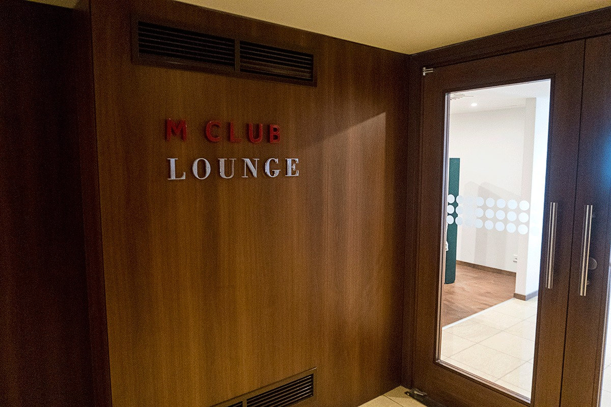 ブダペストマリオットホテルのラウンジ入り口