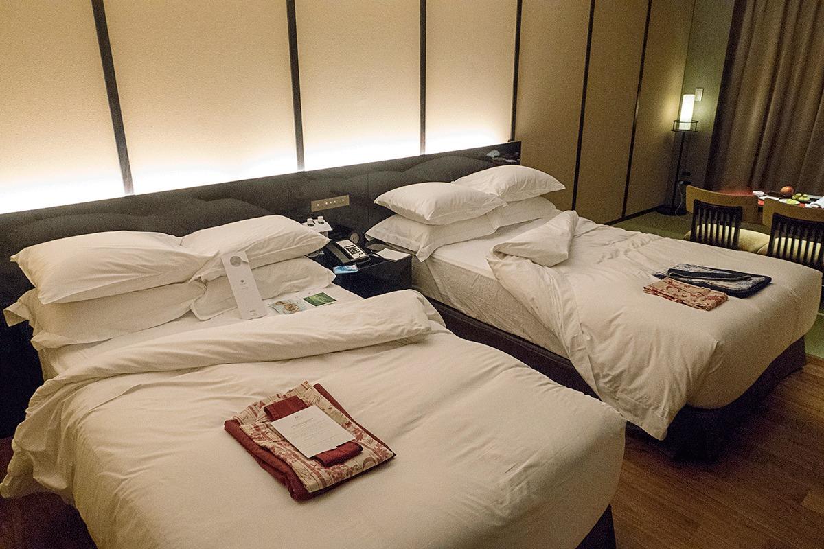 翠嵐ラグジュアリーコレクションホテル京都のターンダウンサービス