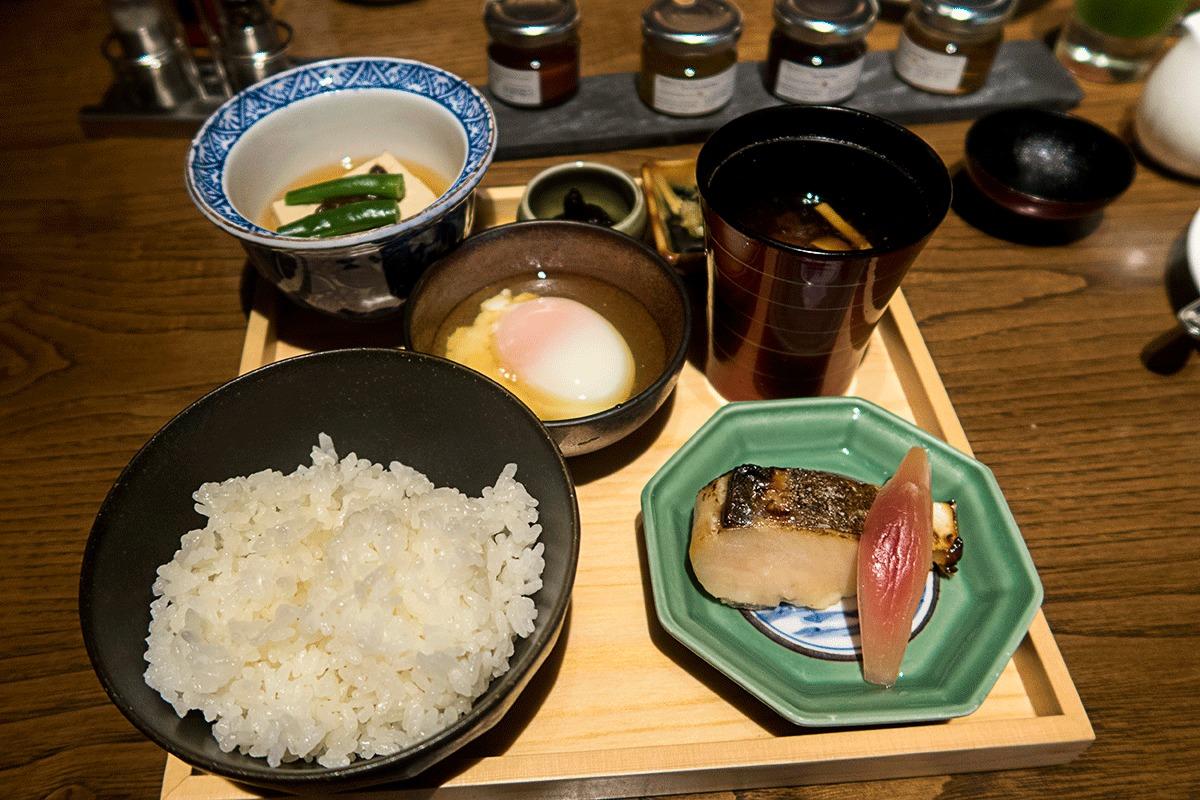 翠嵐ラグジュアリーコレクションホテル京都での朝食