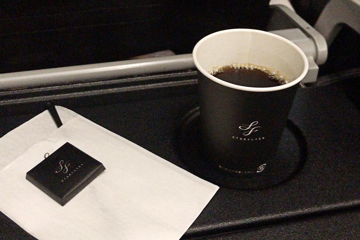 スターフライヤーのコーヒー