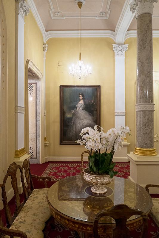 ホテルインペリアルウィーンのマリアテレジア