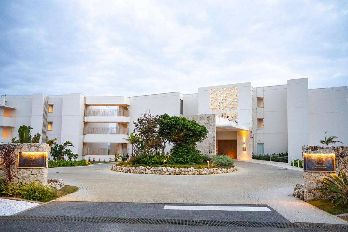 イラフSUIラグジュアリーホテル沖縄宮古の外観