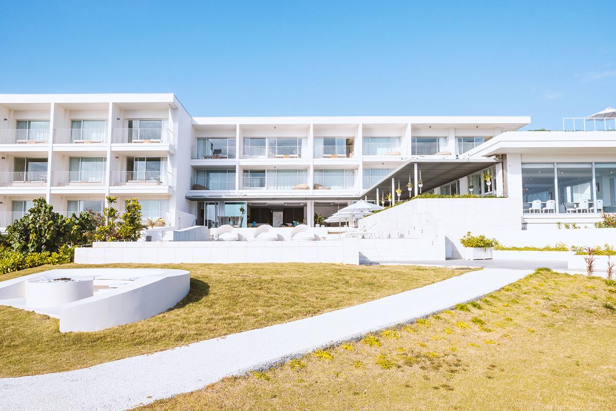 イラフSUIラグジュアリーコレクションホテル沖縄宮古の外観